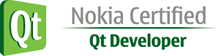 Nokia Qt Certified Developer Logo